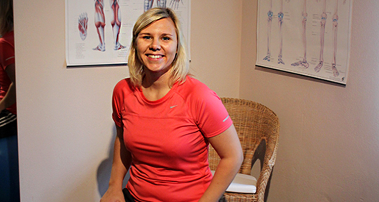 Ihre Physiotherapeutin Ramona Stephan